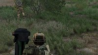 Rendered video of gameplay is pixelated